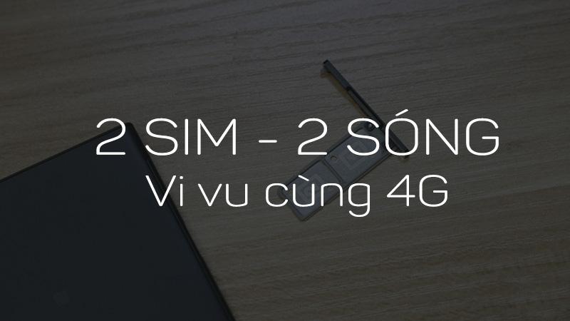 Xperia XA1 Ultra hỗ trợ 2 SIM 4G