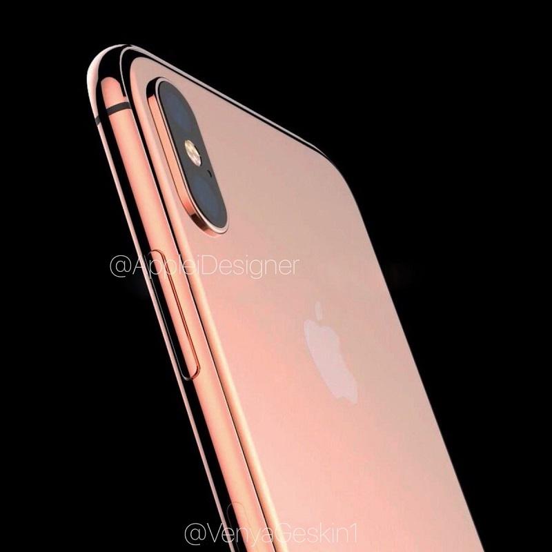iPhone 8 với màu đồng độc đáo vừa  lộ ảnh cực kỳ sắc nét