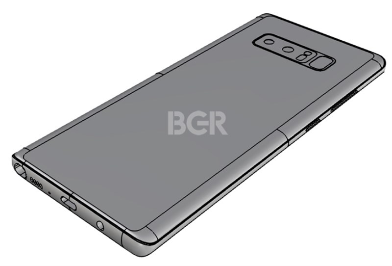 vân tay Galaxy Note 8
