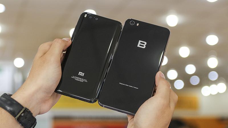 So sánh Bphone 2017 và Xiaomi Mi 6