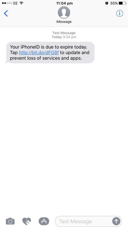 Đây là tin nhắn lừa đảo qua iPhone khiến người dùng mất tài khoản Apple ID