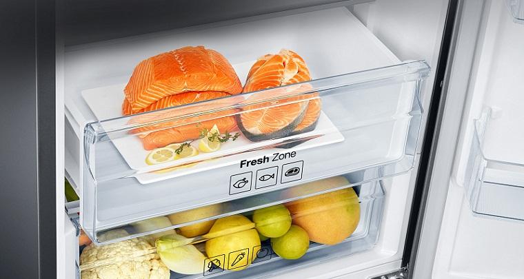 Ngăn chứa Fresh Zone giữ trọn vị ngon và dinh dưỡng cho thực phẩm