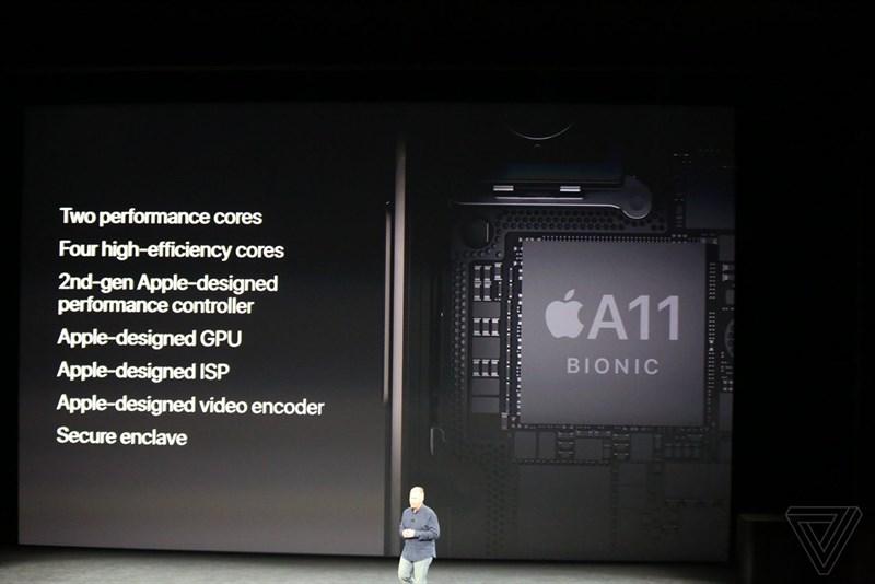 Vi xử lý A11 Bionic