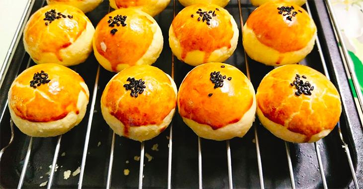 Cách làm bánh Trung Thu ngàn lớp Đài Loan thơm ngon khó cưỡng