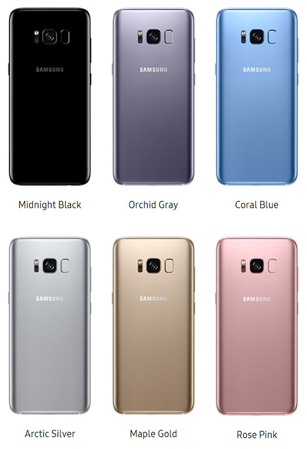 Màu sắc Galaxy S8