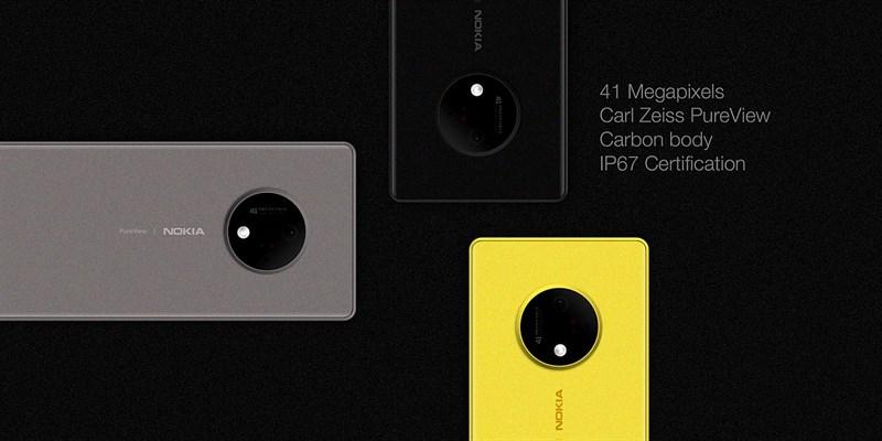 Concept: Nokia 10 với màn hình Super AMOLED HDR, camera 41MP như Lumia 1020 - ảnh 2