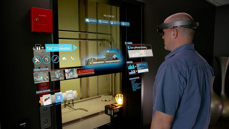 Kính thực tế ảo HoloLens