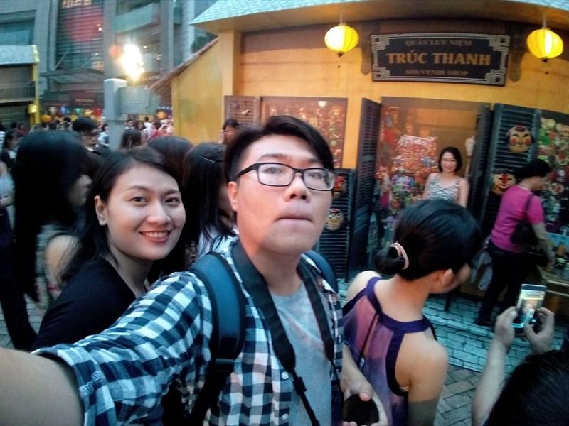 S2 Dual selfie tối
