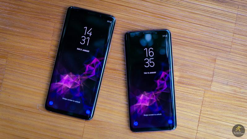 Màn hình tràn viền của điện thoại Samsung Galaxy S9