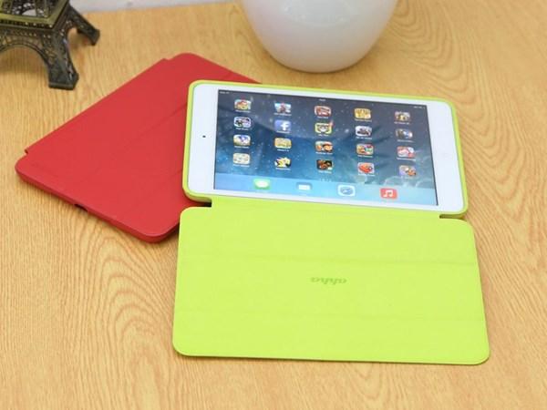 Ốp lưng da nắp gập iPad mini Ahha