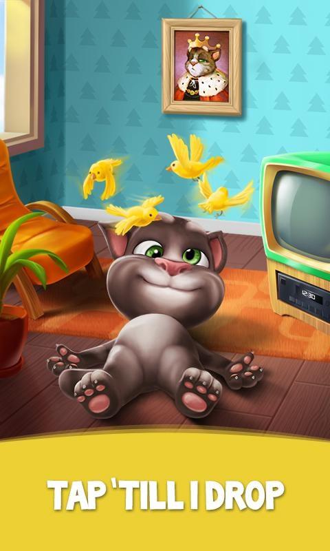 Trong My Talking Tom, người chơi còn có cơ hội thử nghiệm các phong cách thời  trang khác nhau cho mèo Tombằng cách thử các trang phục theo bất cứ cách  phối ...