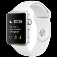 Apple Watch S2 38mm mặt nhôm, dây cao su