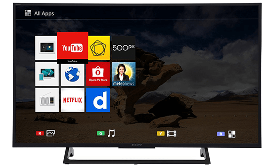 Internet TV SONY 43""