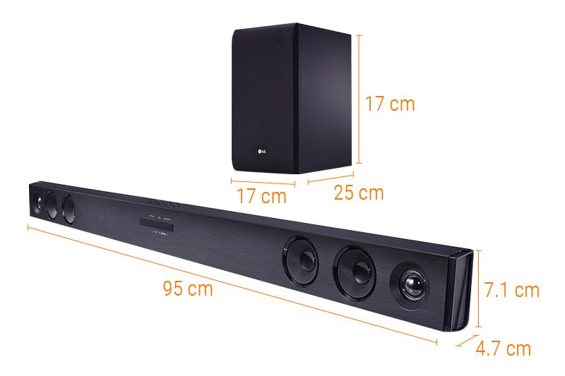 combo smart tivi lg 43lh600t v loa soundbar lg sj3. Black Bedroom Furniture Sets. Home Design Ideas