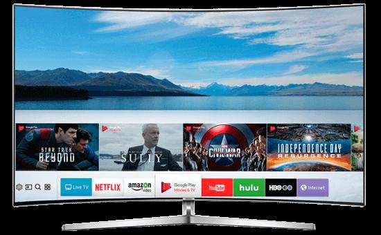 Smart Tivi Cong Samsung 55 inch UA55MU9000