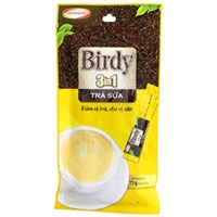 Trà sữa hòa tan 3 in 1 Birdy gói 18g (bịch 4 gói)