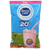 Sữa tiệt trùng Dutch Lady vị Dâu bịch 220ml