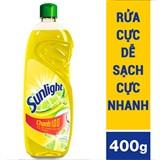 Nước rửa chén Sunlight hương Chanh chai 400g