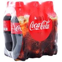 Nước ngọt Coca Cola chai 390ml (lốc 6 chai)