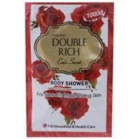 Sữa tắm Double Rich hương hoa Hồng Đỏ gói 7g (10 gói)