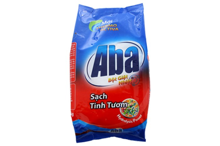 Bột giặt nhiệt Aba Sạch tinh tươm 1,5kg