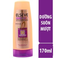 Dầu xả L'Oreal Keratin Smooth 72h dưỡng tóc suôn mượt 170ml