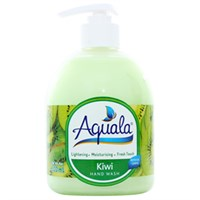 Nước rửa tay Aquala hương Kiwi chai 500ml