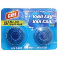 Viên tẩy bồn cầu Gift 110g (vỉ 2 viên)