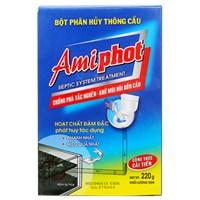Bột phân hủy thông cầu Amiphot 220g