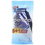 Dao cạo râu Dorco xanh lưỡi kép (6 cây)