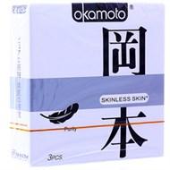 Bao cao su Okamoto Skinless Skin Purity 53mm (hộp 3 cái)