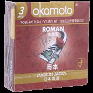 Bao cao su Okamoto Roman 52mm (hộp 3 cái)