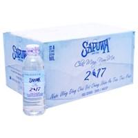 Nước tinh khiết Sapuwa chai 330ml (thùng 24 chai)