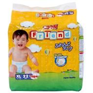 Tã dán GOO.N Friend size XL 22 miếng (bé 11-16kg)