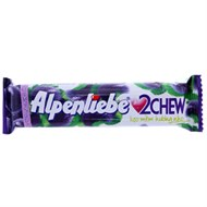 Kẹo mềm Alpenliebe 2Chew vị Nho thanh 24.5g