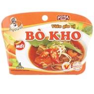 Viên gia vị Bò kho Nosa hộp 75g