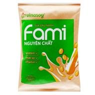 Sữa đậu nành Fami nguyên chất bịch 200ml