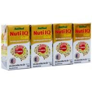 Sữa bột pha sẵn Nuti IQ Gold hộp 110ml (lốc 4 hộp)