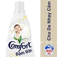 Nước xả Comfort đậm đặc cho Da nhạy cảm chai 800ml