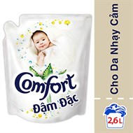 Nước xả Comfort đậm đặc cho Da nhạy cảm túi 2.6 lít