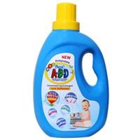 Nước giặt xả quần áo trẻ sơ sinh Pureen A-B-D chai 1 lít