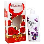 Hộp quà Sữa tắm Double Rich hương hoa Iris 550g