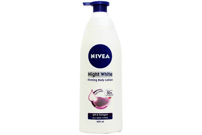 Sữa dưỡng thể Nivea Night White chai 400ml