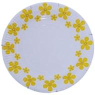 Đĩa giấy in hình hoa mai Hunufa 17 inch (10cái)