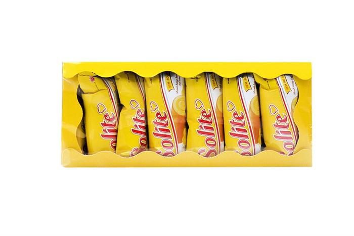 Bánh bông lan cuộn kem bơ sữa Solite 360g (20 cái)