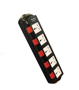 Ổ cắm 5 lỗ 3 chấu dây 5m Điện Quang SM750SL