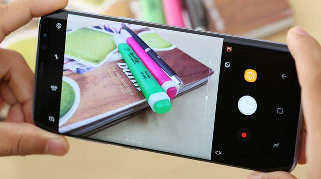 Giao diện camera được làm mới, đơn giản, dễ sử dụng
