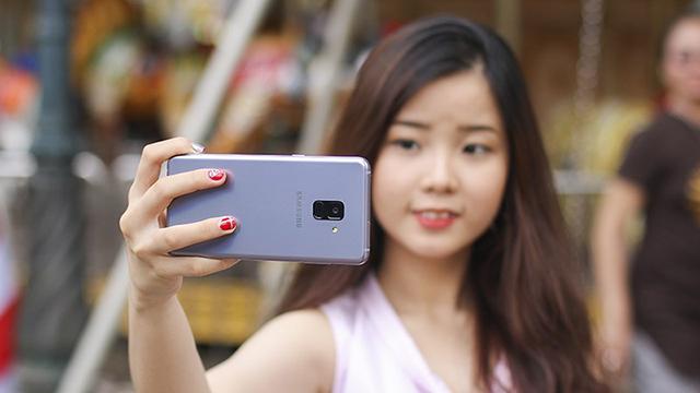 Bảo mật Samsung Galaxy A8 (2018)