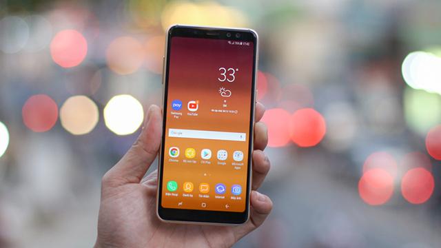 Màn hình Samsung Galaxy A8 (2018)