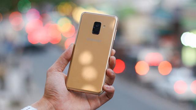 Thiết kế Samsung Galaxy A8+ (2018)